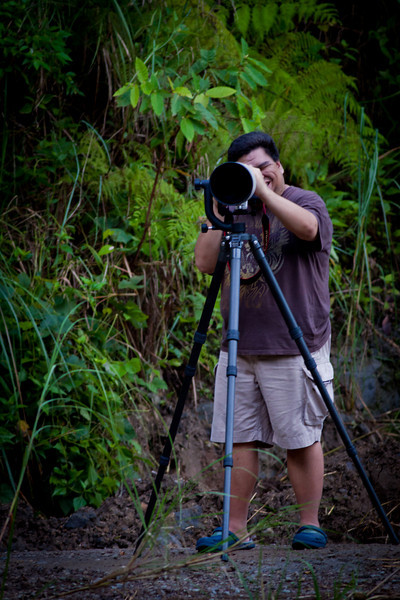 "Paolo, Photographer... for Crocs.<br /> ""It's relaxing... for birding and shooting."""