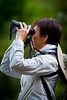"Charo, Doctor... for Swarovski.<br /> ""From bins to rings...just right for birding."""