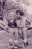 Garfinkels, hammock 1956<br /> Evie & Sari and sneakers