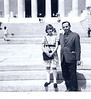 Lincoln Memorial<br /> Evie and Dad