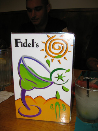 Birthday Party at Fidels, 2012