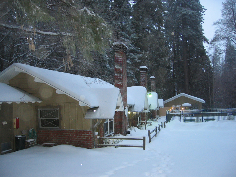 Our cabin in Lake Arrowhead