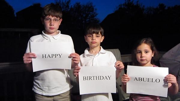 Happy Birthday Abuelo