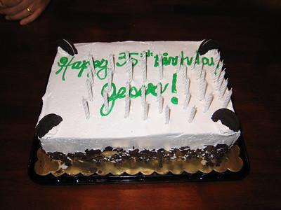 Jesus' 35th Birthday