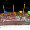 Birthday cake by Sally.  :)