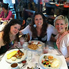Brunch at The Peacock Cafe in Georgetown with Sarah and Kirsten.