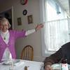Oma celebrating