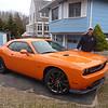 Chris's new car - Challenger SRT