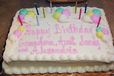 Arionna Christening : Alexandria's Birthday 3/8/2009