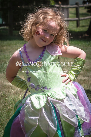 Birthday Tinker Bell Dress - 19 Jul 2009