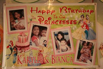 Karylle's 7th - Bianca's 1st