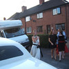 Kee heading for Limo (Lou inside :-))