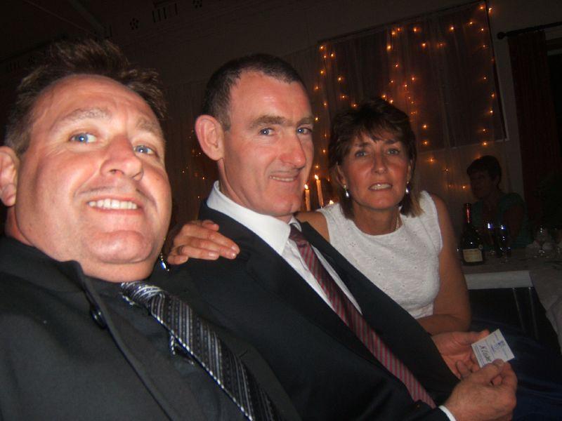 Wally, Keith and Christine