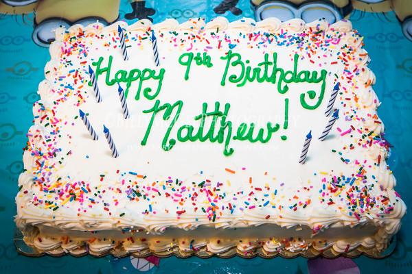 Matthew's Birthday Party - 18 Jan 2014