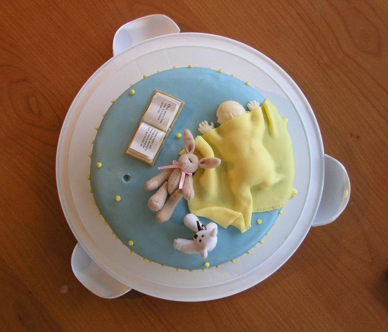 Mary bakes a birthday cake