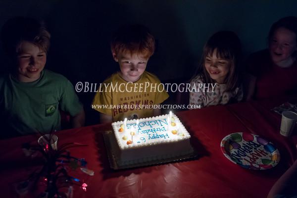 Nick's 6th Birthday - 14 Apr 2012