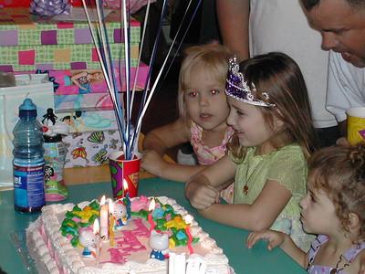 Rhiannon's 5th Birthday