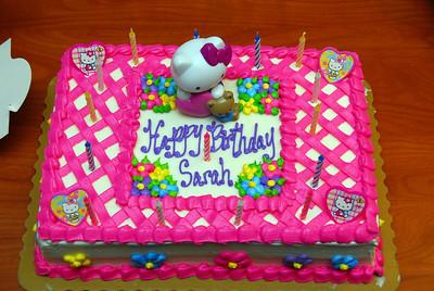 Sarah's Birthday '08