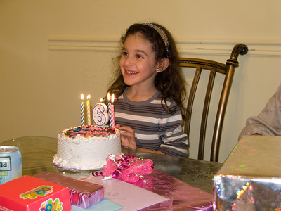 Sara's 6th Birthday (Cake and Presents) '08
