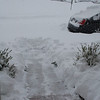 I had to dig out of the house!