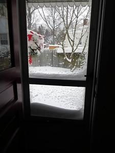 Can't open the back door!