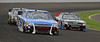 NASCAR, Nationwide Series cars in practice, turn 3 at IMS