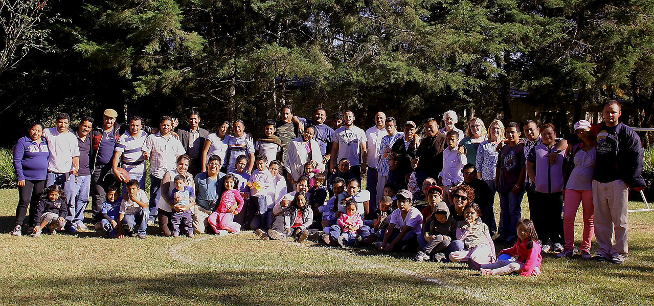 smile... The family of God is growing in Guatemala.