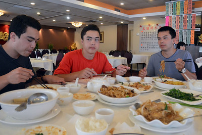 Pre-game Dim Sum with Mama and baba