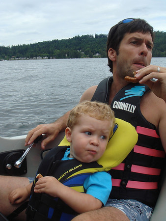 Boating on Lake Sammamish