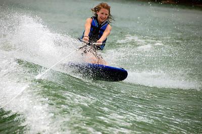 Sarah's Boat Trip