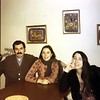 Elissa's husband, Elissa and Laura Barmack, 1969