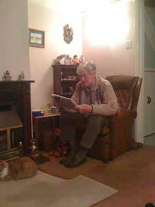 Dad loved his crosswords in the daily paper.