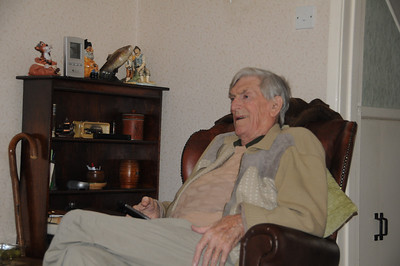 Dad loved his telly and Dads Army was a priority!