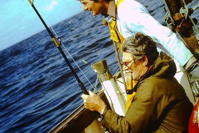 Dad loved his fishing trips to Looe, always chasing that big one that always got away.