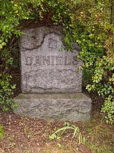 Daniels Headstone in Cemetery