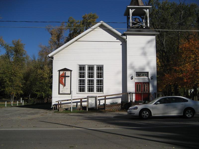 Methodist church in Nottawa