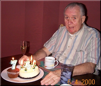 Bob at 75, June 2000