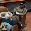 Bob talking with Vera in the lobby of Hotel Rott 3