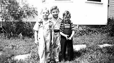 Left to right: Donny, Bobby & Cousin Billy Lee (Billy is the son of their father's brother Bill)