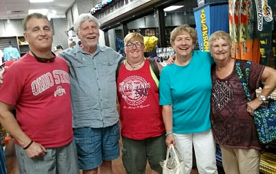 Left to Right: Denis, Don, Denise, Fran, Mary