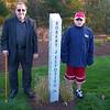 Memorial for Robert Esposito Jr. at Deerfield Park in Smithfield Rhode Island