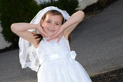 Kate First Communion