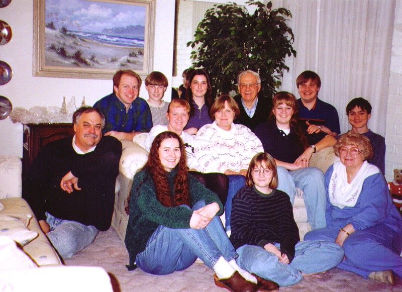 Bonnie & Wayne with Mike & Michelle's Family,   - Copy
