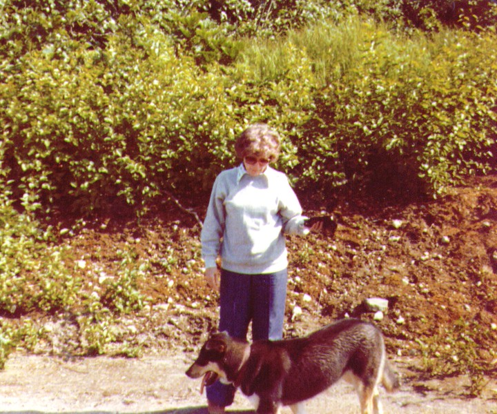 Bonnie & Friend, Nikiski, AK, July 1980