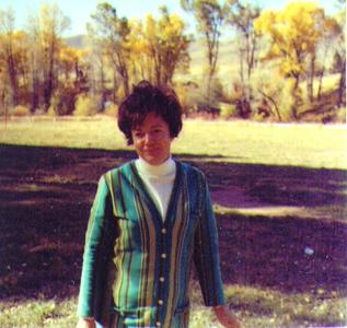 Bonnie at Weber County Memorial Park,