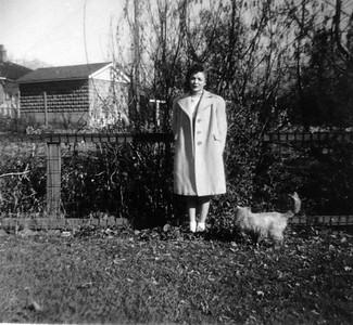 Bonnie Decker, Porter Ave  1944,