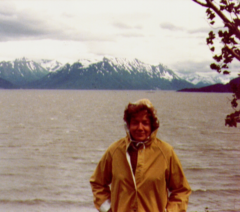 Bonnie,Turnagain Arm nr  Hope,Alaska, July1980