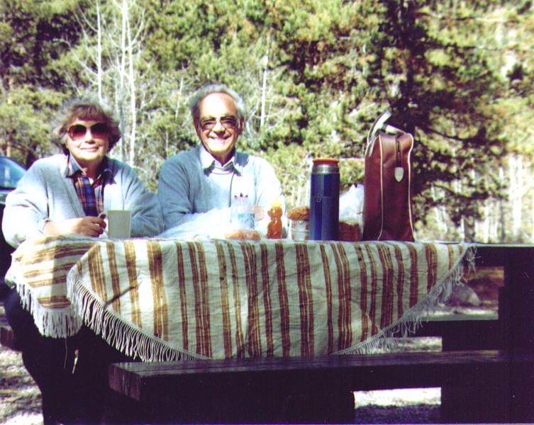 Bonnie & Wayne at Mirror Lake, UT 10-1990