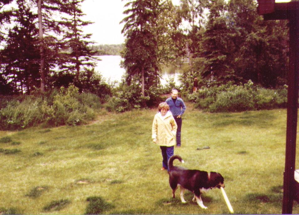 Bonnie,Wayne, Tundra  July 1980 - Copy
