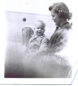 Dave & Bonnie Eldredge, San Francisco, 1949,
